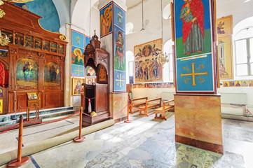 St. George's Church in Madaba, Jordan