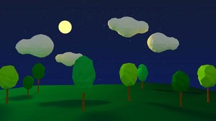 Night Lanscape