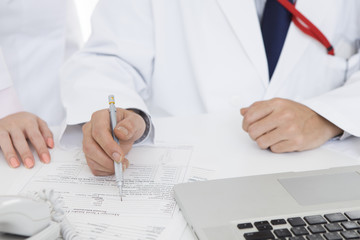 Doctors to check the medical records