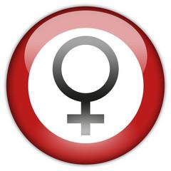 Button Patch Frauen verboten