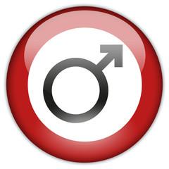 Button Patch Männer verboten