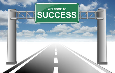 welcome to success road