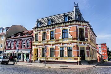 Sanierte Altbauten