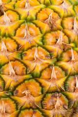 Fresh pineapple. Macro. Background.