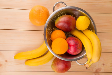 Tropical fruit. Close up.