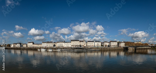 Papiers peints Ville sur l eau Nantes - La Loire