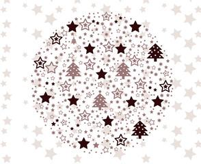 Baumkugel weihnachtlich