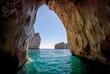 Leinwandbild Motiv Capri blue grotto