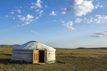 Mongolian Ger Steppe