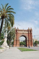 Arc de Triomf di Barcellona