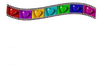 """Filmstreifen """"Liebe"""""""
