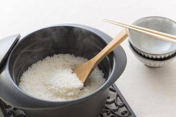 ご飯 白米 炊きたて