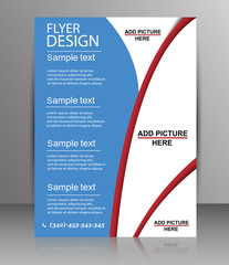 Brochure Design - Flyer Template Vector
