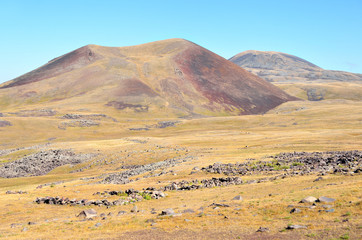 Армения, потухшие вулканы