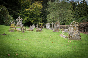 English coutry cemetery