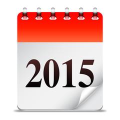 New Year calendar.