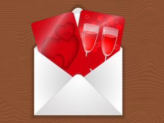 love envelope