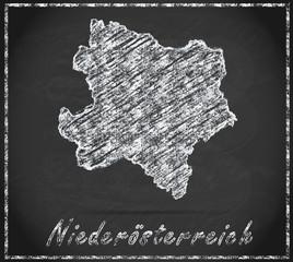 Karte von Niederoesterreich