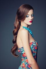 beautiful girl beauty studio portrait