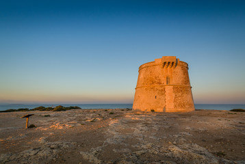 Formentera ancient tower