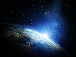 Planet from space