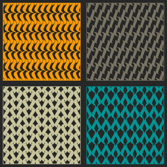 Bright reticulated patterns