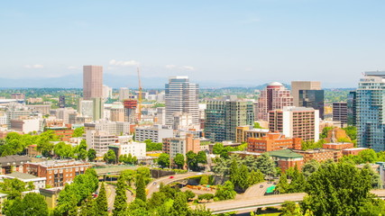 Portland Downtown Sunny 573