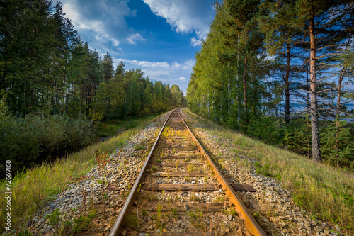 Rusty railway - 72669168