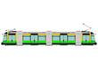 Modern tram - 72669576