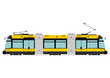 Modern tram - 72669595