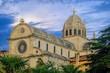 canvas print picture - Sibenik Kathedrale - Sibenik Cathedral 07