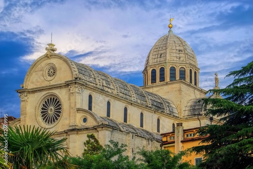 canvas print picture Sibenik Kathedrale - Sibenik Cathedral 07