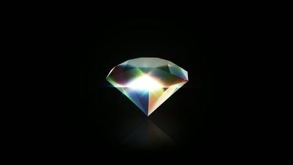 Diamond rotating