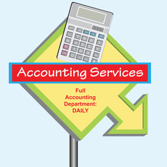 Sign Accounting Department