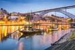 Porto, Portugal Town Skyline on the Douro River