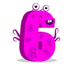 The English alphabet. Figure 6, the sixth.