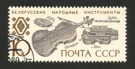Belarusian folk instruments