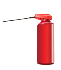 bomboletta spray rossa