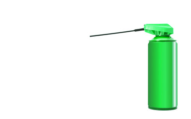 bomboletta spray verde