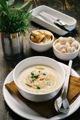 Mushroom soup - Crema di funghi