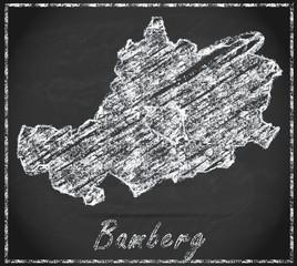 Karte von Bamberg
