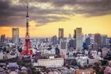 Tokyo, Japan Skyline at Tokyo Tower