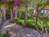 Fototapety Garden at Taormina, Italy.