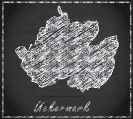 Karte von Uckermark