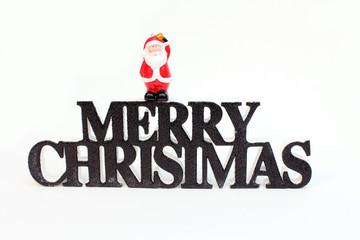 Merry Christmas mit Weihnachtsmann