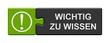 Leinwandbild Motiv Puzzle Button grün grau: Wichtig zu wissen