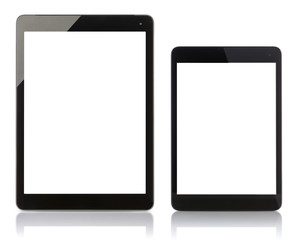 Tablet pc and Pad Mini with blank screen