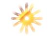 goldene Sonne - goldener Stern...