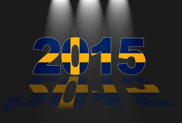 Sweden, New year 2015.