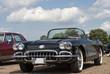 Постер, плакат: amerikanisches Automobil Corvette